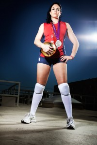 Lindsey Berg of USA Volleyball