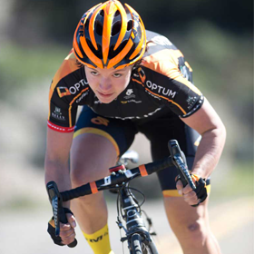 Brianna Walle of Optum Health/Kelly Benefits Pro Cycling