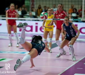 Lindsey Berg of USA Volleyball in London