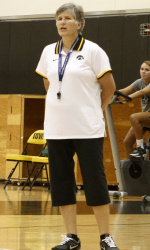 University of Iowa Volleyball Coach Sharon Dingman