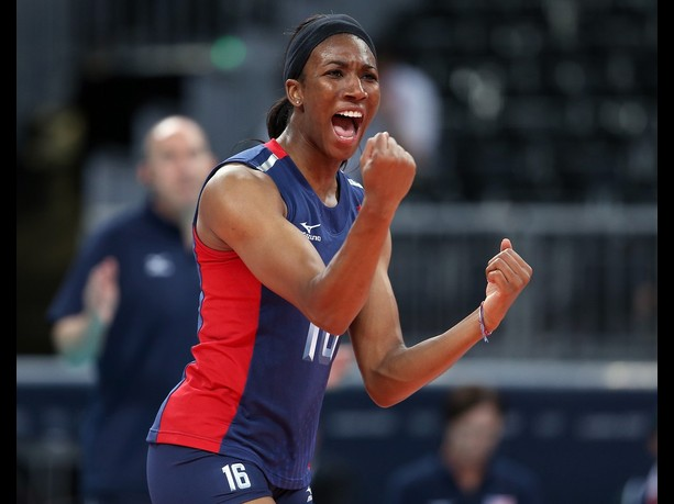 Foluke Akinradewo of USA Volleyball
