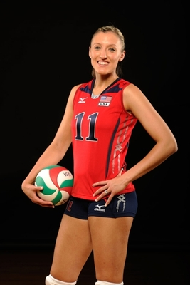 Jordon Larson of USA Volleyball