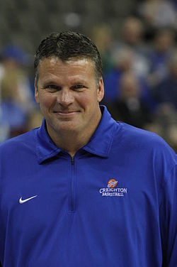 Coach Greg McDermott of Creighton University Basketball