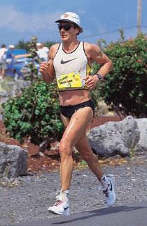 Triathlon World Champion Mark Allen