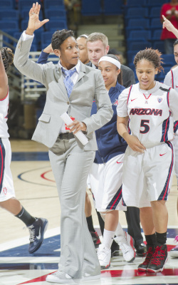 Arizona Coach Niya Butts